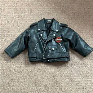 Harley Davidson jacket toddlers